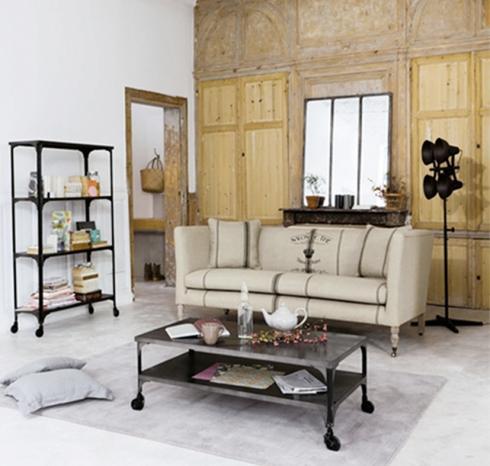 Muebles sobre ruedas paperblog for Despacho estilo industrial