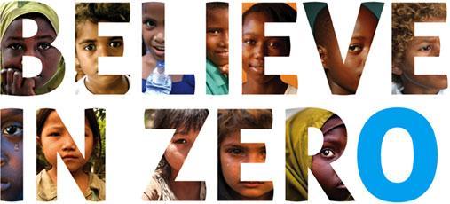 Unicef: Cree en cero