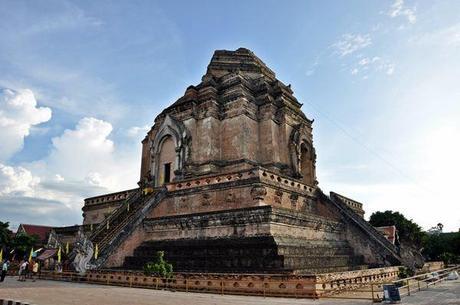 Stupa Wat Chedi Luang Chiang Mai