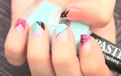 Llevar las uñas decoradas está muy de moda, en este tutorial os ...