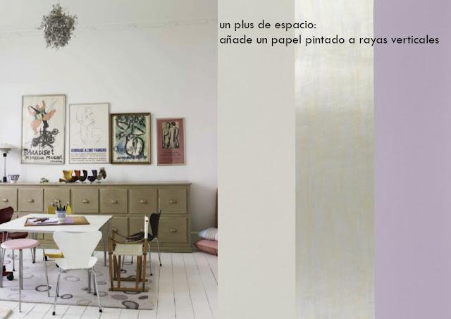 Transforma tu casa con papel pintado paperblog - Casas decoradas con papel pintado ...