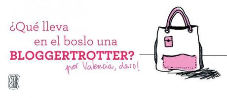 ¿Qué lleva una bloggetrotter en el bolso? (versión Valencia city)