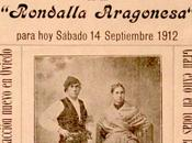 Oviedo fiestas. 1912