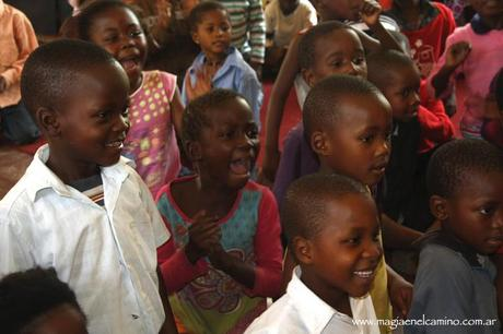 Primeras sonrisas africanas