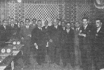 Integrantes del Ajedrez Condal Club en 1930