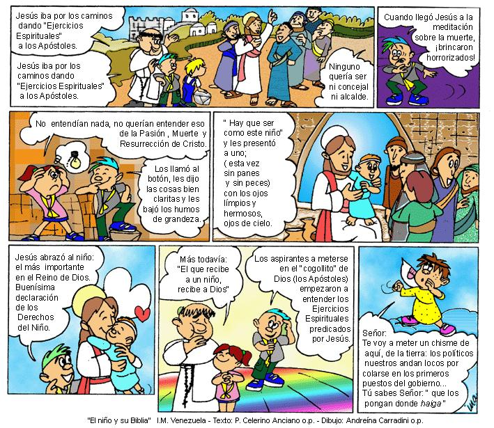 EVANGELIO DOMINICAL EN CÓMIC: 23 de Setiembre del 2012
