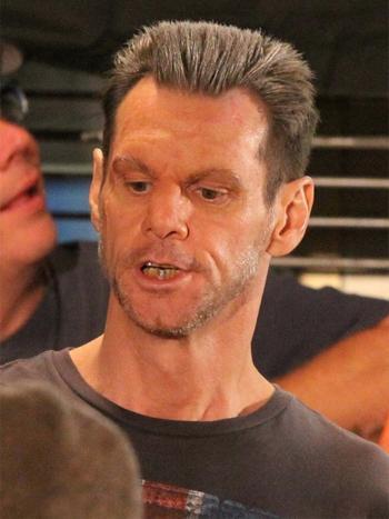 Así veremos a Jim Carrey en 'Kick-Ass 2'