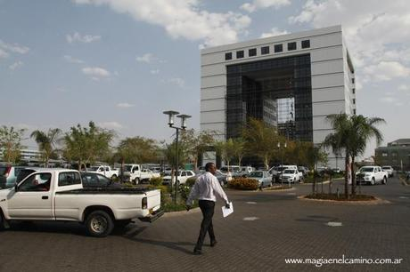Gaborone, la capital de Botswana