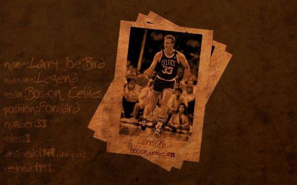 larry bird essays Some player's wish of winning a nba title but 'larry legend' won 3 being the  5th overall pick in the 1978 nba draft larry bird played 13 seasons as a boston .