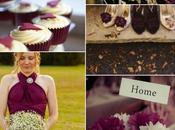 Colour Monday Burgundy wedding
