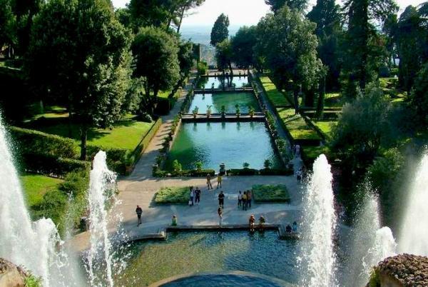 Los jardines mas bonitos de italia paperblog for Jardin villa d este