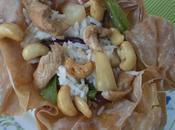 phad ma-muang (salteado pollo anacardos)