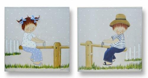 La tienda kdekids cuadros infantiles personalizados d o - Cuadros para habitacion infantil ...