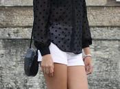 Polka dots blouse #Londonday4