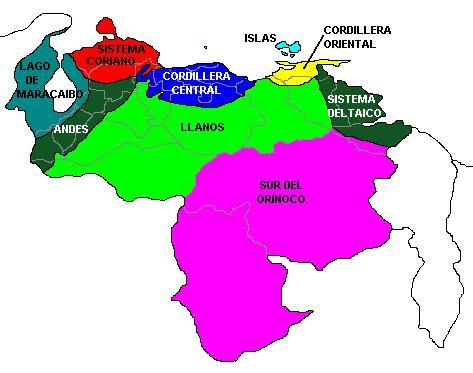 Qué es una Región y una Ecorregión y las Ecorregiones Venezolanas
