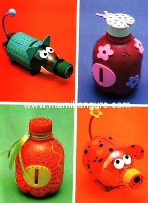 Manualidades Infantiles Con Materiales Reciclados Paperblog
