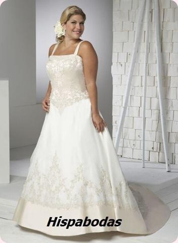 Vestidos de novia para mujeres con curvas