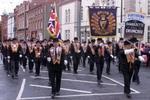 La Orden de Orange desfila por Belfast