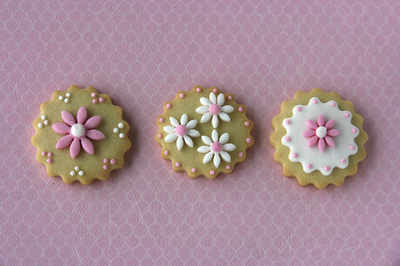 Galletas Decoradas De Flores Paperblog