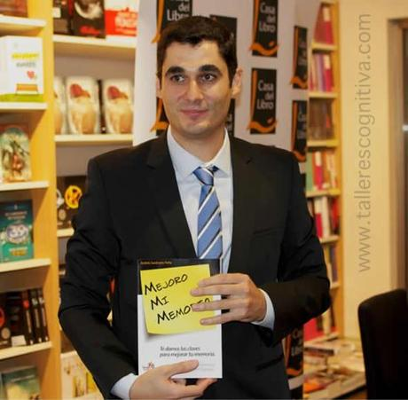 Andres Sardinero Peña - Casa-del Libro de Fuencarral Presentación Mejoro mi Memoria