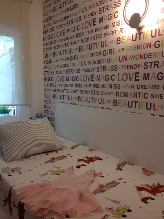Mi pared favorita 39 12 sus letras favoritas de m nica - Letras adhesivas para pared ...