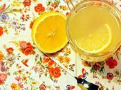 Limonada caliente, remedio casero para días frios