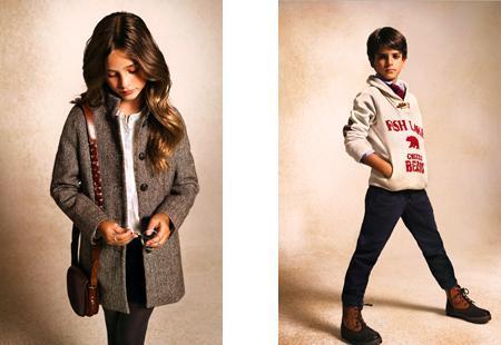 Massimo Dutti niños, colección otoño 2012