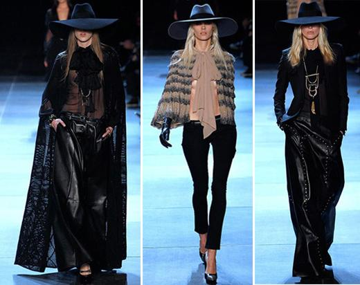 El debut de Hedi Slimane en Saint Laurent Paris