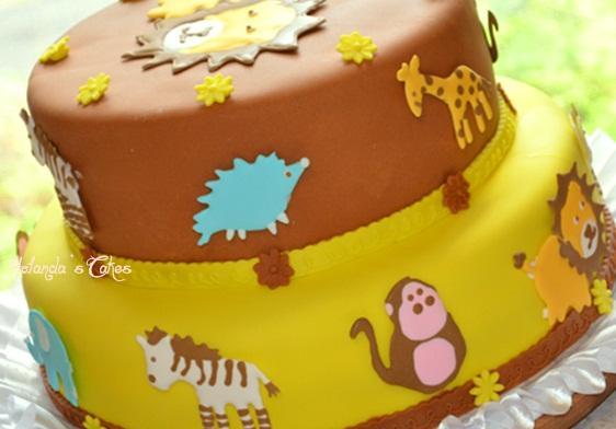 Pastel de vainilla para baby shower - Paperblog
