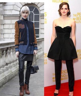 aw12 pantalon y falda street style Tú decides: pantalón + falda, ¿si o no?