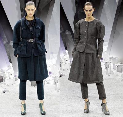 aw12 pantalon y falda chanel Tú decides: pantalón + falda, ¿si o no?