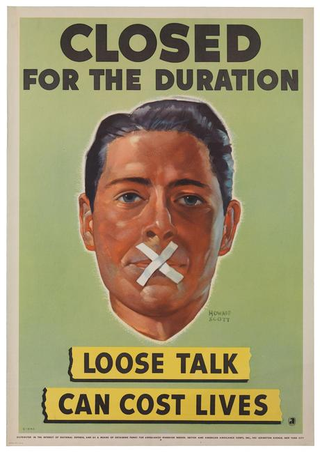 Carteles de propaganda de la II Guerra mundial