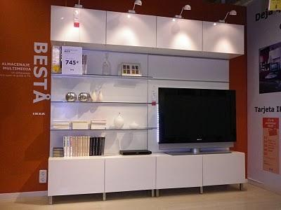 Salones besta de ikea madrid del este iv paperblog - Ikea salones besta ...