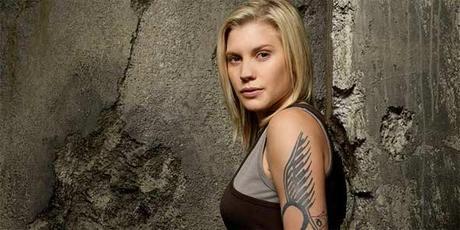 """Katee Sackhoff es el segundo rostro de """"Las Mercenarias"""""""