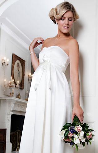 Elección Del Vestido De Novia Estando Embarazada Paperblog