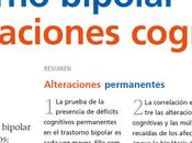 Trastorno bipolar alteraciones cognitivas Solé col.