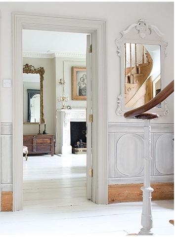 espejos barrocos y blancos white mirrors