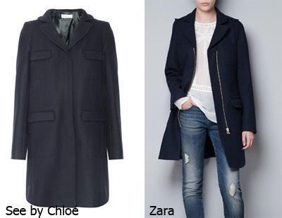 aw12 clones abrigo see zara El ataque de los clones: Zara Total Clon