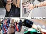 Tendencias moda: pulseras Pinchos