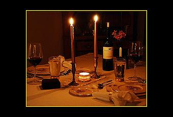 C mo organizar una cena rom ntica paperblog - Como organizar una cena romantica ...