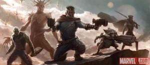 dice Groot Mapache Cohete serán secundarios película Guardianes Galaxia