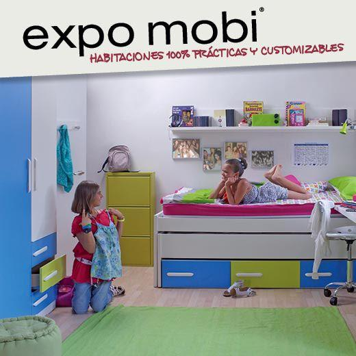 Muebles expomobi habitaciones totalmente personalizables for Expomobi muebles