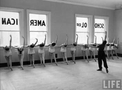George Balanchine's school of American Ballet