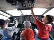 Aviones niños, ¿cabezas educación?