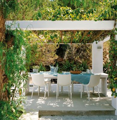 Pergolas para patios r sticos paperblog - Fotos de porches rusticos ...