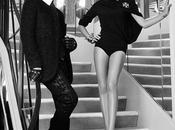 Victoria Beckham Karl Lagerfeld