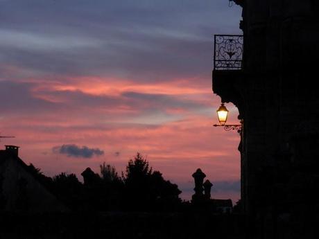 Atardecer en Santiago de Compostela