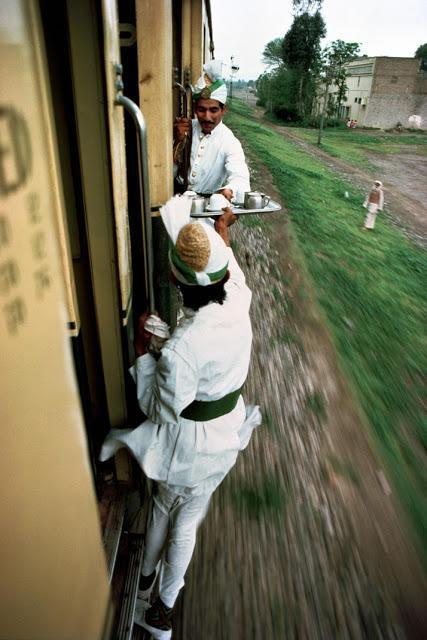 Trains - Steve McCurry
