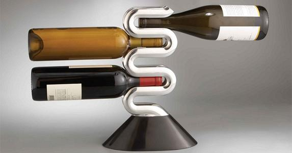 Botelleros modernos vino cobijado en dise o paperblog - Botelleros de diseno ...