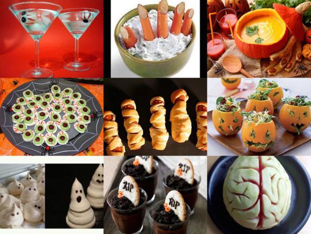 Juegos De Cocina De Halloween   Buffet Facil De Halloween Paperblog